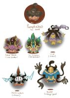 Pumpkaboo Variants: set 2