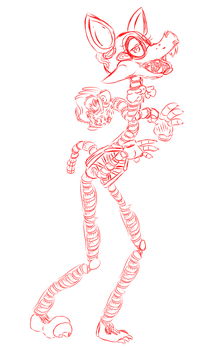 mangle sketch by pennywisekinq