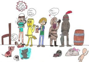 Pewdiepie: Bros and Villains by killALLthezombies
