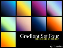 Gradient Set Four by s3vendays