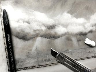 How to draw clouds and sky by Lineke-Lijn