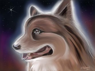 Celestial Dog by DLNorton
