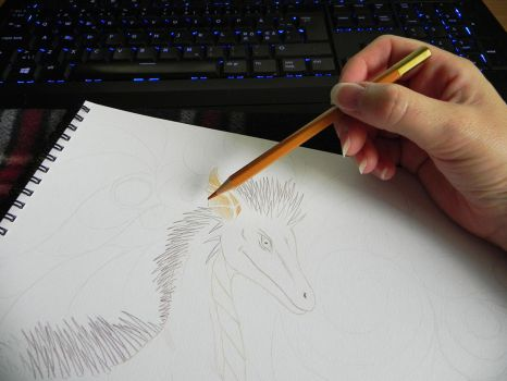 Holding Pencil for soft shading/layering by YikYik