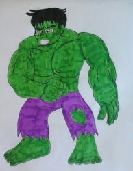 The Incredible Hulk by JQroxks21