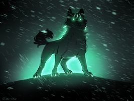 Soul of a True Bearhound by Snow--Chan