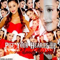 Put Yours Hearts Up-By:fersellylover11 by fersellylover11