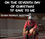 Seventh day of christmas by Nikolad92