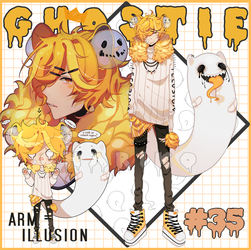 AB ADDED LION GHOSTIE AUCTION .CLOSED by CHARIKO