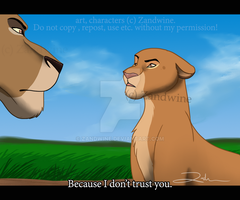 The Lion King - Disagreements by Zandwine