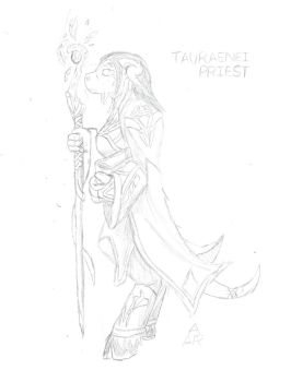 WoW - Tauraenei -WiP- by AndroidAR