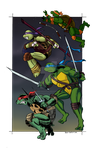 TMNT Forever by SoVeryUnofficial