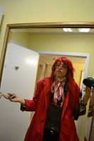 My Sexy Grell cosplay! by Methvell