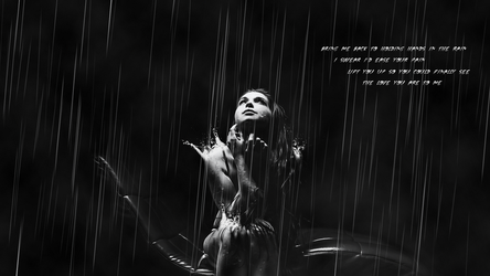 Hands in the Rain by DaIllestBeast