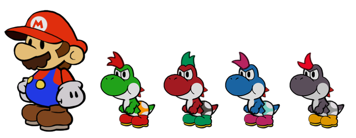 Kid Yoshi preview by DerekminyA