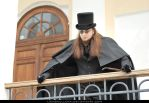 STOCK - Gothic Aristocratic Man 06 (Railing) by LienSkullova
