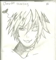 Claude Sterling by MuderingRabbits