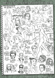 First sketchdump of 2011 by what-i-do-is-secret