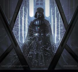 STAR WARS - Darth Vader by AnthonyDevine