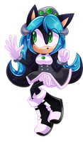 Mana The Hedgehog by CuteyTCat
