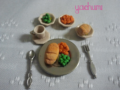 Miniature dinner by yachumichan77