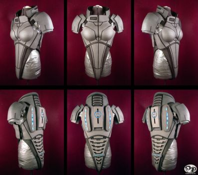 Mass Effect 2 WIP N7 Armor 3 by Evil-FX