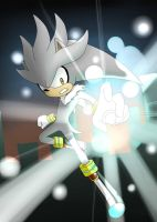 Silver the Hedgehog by SashaVasileva