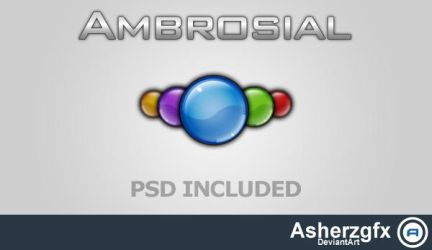 Ambrosial - Free Orb PSD by asherzgfx