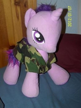 My Little Twilight Plushie LIKE A BOSS! by coonk9