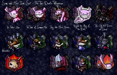 SnM - Icon Set for DPH by Ginny-N