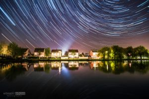 One hour startrail by NorbertKocsis