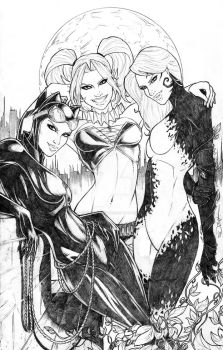 Gotham Sirens Commission by sorah-suhng