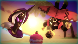 Pokemon - Tapu Fini and Tapu Bulu by BrolyNo1Consorter