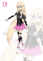 IA Aria on Planet by SmallRoars
