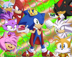 Happy Birthday, Sonic! by AnnaVip007
