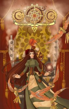 C.O.G. Cover - Golden Sparrows by MaraAum