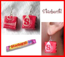 Starburst Earrings by lavadragon