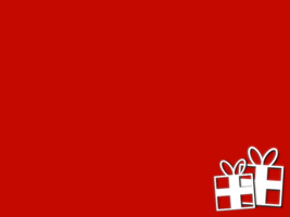 Christmas Card - Red, gifts by xVanyx