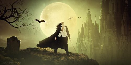 Dracula, The Prince Of Darkness by CharllieeArts
