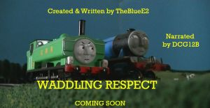 NO RELEASE DATE: 'Waddling Respect' Poster by RonanL10