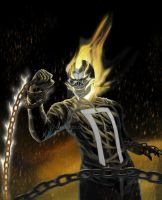 Ghost Rider by Jhanquaza