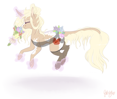+ Commission + Fleur Amore by qatsby
