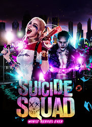 SUICIDE SQUAD | POSTER by SoClassic