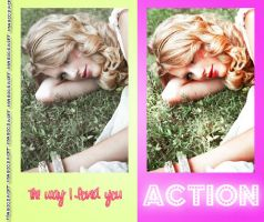 The way I loved you Action by magicswift