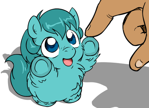 Fluffy Foal loves you! by marcusmaximus