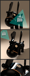 The Rocket Dog - Toy Design Project by badendesing