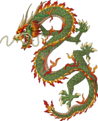 Chinese dragon by El-Mono-Cromatico