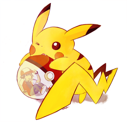 pikaChew by The-EverLasting-Ash