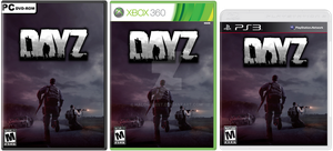 DayZ - Box Art: PC, Xbox 360 and PS3 by halo4guest