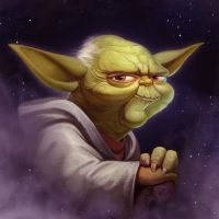 Yoda Fan Art by NestStrix