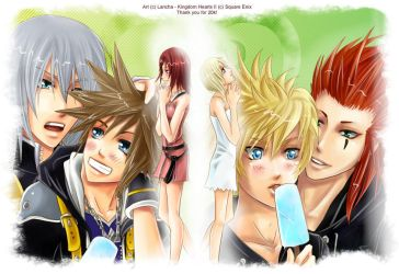 KH2: Thank you for 20k by Lancha